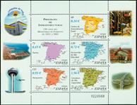 Espagne - 150 ans Ministerio Fomento - Bloc-feuillet neuf