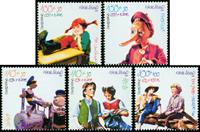 Tyskland - Børnefortællinger - Postfrisk sæt 5v