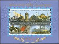 Tyrkiet - Balkanfil - Postfrisk miniark