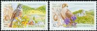 Ungarn - Fugle Europa 1999 - Postfrisk sæt 2v