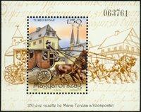 Hongrie - Journée du timbre - Bloc-feuillet neuf