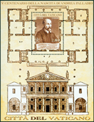 Vatican - Andrea Palladio - Bloc