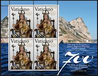 Vatican - Emmission commune avec Gibraltar - Bloc-feuillet neuf