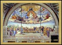 Vatican - La Sainte Eucharistie - Bloc-feuillet neuf