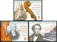 Vatican - Musique classique - Série neuve 3v