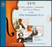 Vatikanet CD klassisk musik Händel m.fl. - Diverse