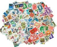 600张不同挪威邮票包