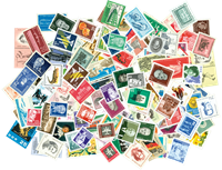 RDA 150 timbres neufs différents