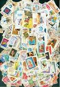 2260张不同的来自匈牙利的邮票
