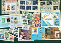 Nicaragua 11 blocs-feuillets et 16 timbres