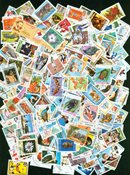 Nicaragua - 500 different  stamps