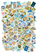 Ex-Soviet Russian states - 300 different stamps
