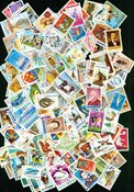 Roumanie 300 timbres diff.