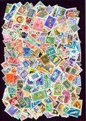 Hungary 1000 different stamps