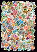 Hungary 1600 different stamps