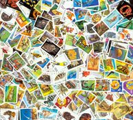 坦桑尼亚,223枚不同的邮票
