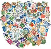 600 francobolli differenti Svezia