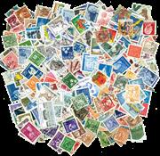 Sverige - frimærkepakke - 600 forskellige frimærker