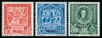 Polen - 1947 B.I.E. sæt postfrisk