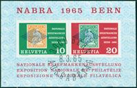 Switzerland - Nabra souvenir sheet