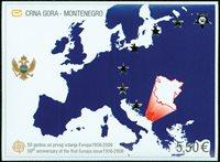 Montenegro Eurooppa pienoisarkki nr 3