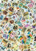 Rwanda neuf non-dent.,env. 9 BF et 370 timbres