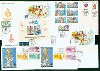 Spanien 8 kuverter