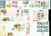 Espagne 7 enveloppes