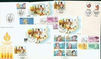 Spanien 6 kuverter