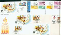 Espagne 5 enveloppes