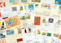 Lufthansa 17 first flight envelopes