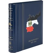 LEUCHTTURM SF-Álbum preimpre.tapas PERFECT DP, classic DEUTSCHES REICH 1872-1918, azul