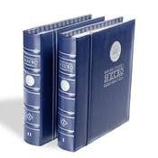 VISTA album numismatique pourpièces comm. all. de 10 euros, Tome 1 + 2