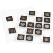 Pochettes plastiques ENCAP, transparentes pour 20 pièces capsules QUADRUM 5
