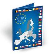 Carte de collection pour 1 Série de pièces d'1 Euro