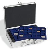 coin case for 112 coins, incl. 6 coin trays
