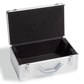 Møntkuffert i aluminium - Uden indhold