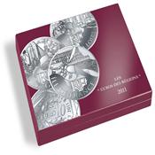 Coffret Numismatique VOLTERRAUNO deluxe, pour 27 pices *EUROS DES RÉGION*