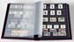 Classeur Leuchtturm COMFORT - Noir - A4 - 64 pages  noires - couverture ouatinée