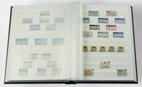Classeur Leuchtturm BASIC - Rouge - A4 - 64 pages blanches, couverture non ouatinée