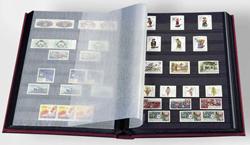 Indstiksbog - Rød - A4 - 16 sorte sider - Ikke-polstret indbinding - Leuchtturm