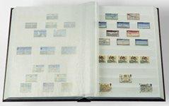 Classeur Leuchtturm BASIC - Vert - A4 - 64 pages blanches, couverture non ouatinée