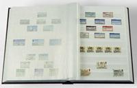 Indstiksbog - Blå - str. A4 - 64 hvide sider - Delt - Ikke-polstret indbind