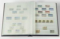 Classeur Leuchtturm BASIC - Noir - A4 - 32 pages blanches - couverture non ouatinée