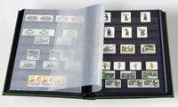 Insteekboek - Groen - A4 - 32 zwarte bladzijden - ongewatteerde band
