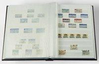 Classeur Leuchtturm BASIC - Bleu - A4 - 32 pages blanches - couverture non ouatinée