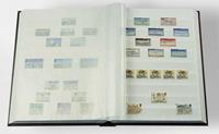 Classeur Leuchtturm BASIC - Rouge - A4 - 32 pages blanches - couverture non ouatinée