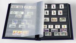 Indstiksbog - Blå - A4 - 16 sorte sider - Ikke-polstret indbinding - Leuchtturm