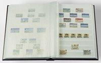 Classeur Leuchtturm BASIC - Vert - A5 - 16 pages blanches, couverture non ouatinée