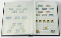Classeur Leuchtturm BASIC - Rouge - A5 - 16 pages blanches, couverture non ouatinée